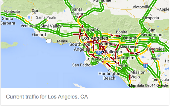 6 Smart Ways To Deal With Hellish Los Angeles Traffic: Sigalert Los Angeles Map At Slyspyder.com