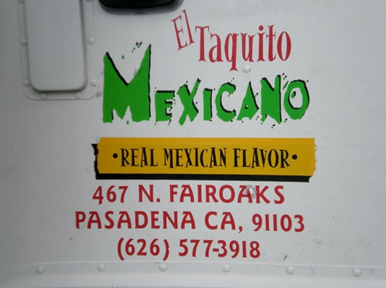 El Taquito Mexicano Food Truck
