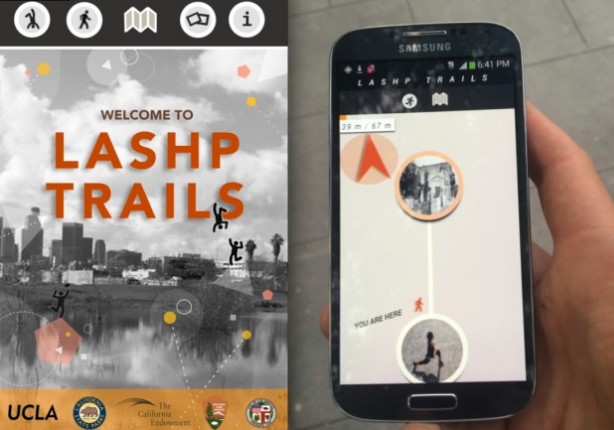 Los Angeles Urban Trails App