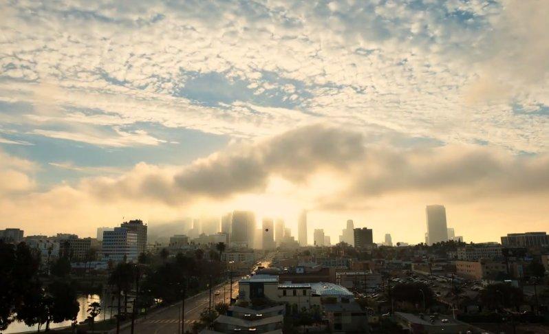 Sunrise Over DTLA