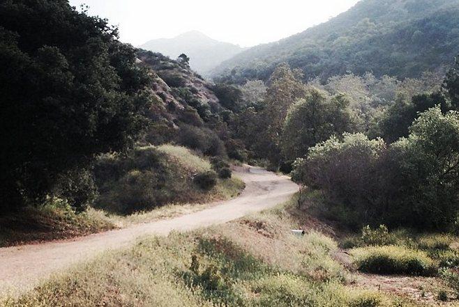 Bronson Canyon Trail Griffith Park