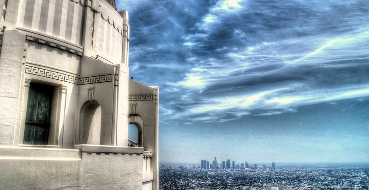 Griffith Observatory Cloudy View