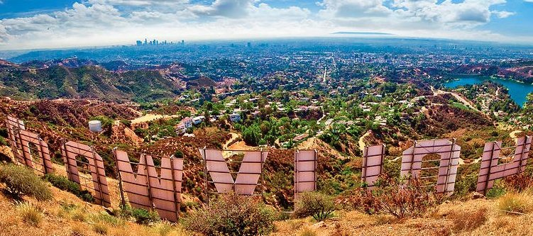 Hollywood Sign Landscape