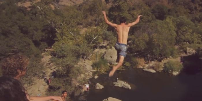 Malibu Creek Cliff Diving