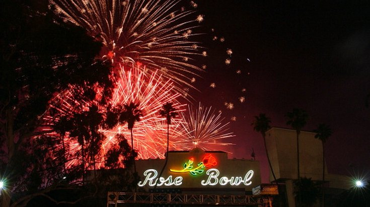 Rose Bowl Fireworks in Pasadena, CA