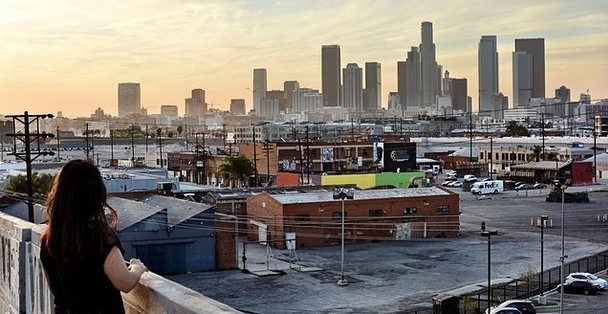 Sixth Street Bridge View DTLA