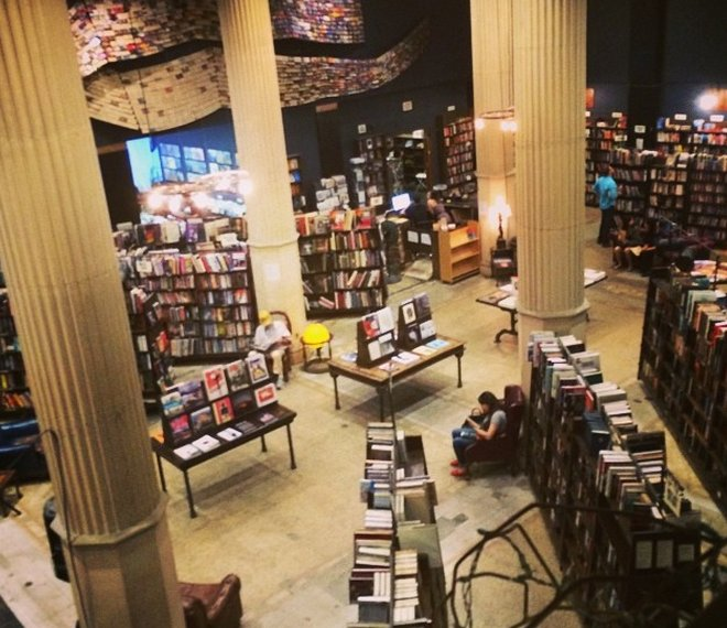 The Last Bookstore in DTLA