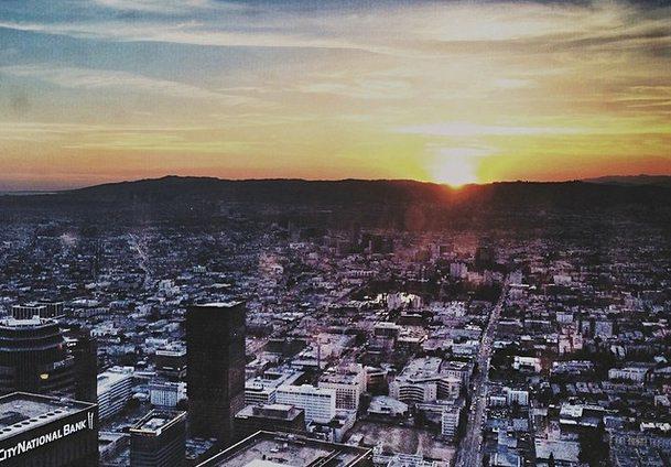 U.S. Bank Tower Sunset