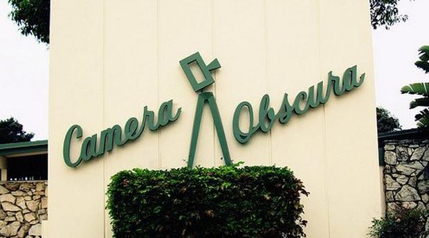 Camera Obscura in Santa Monica Senior Center