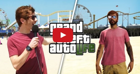 GTA 5 to Los Angeles Comparison