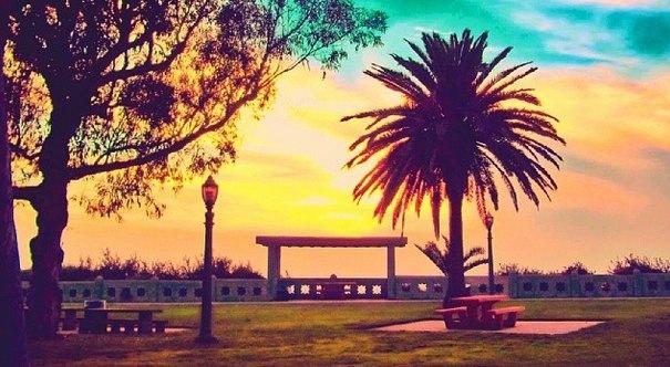 Point Fermin Park Sunset