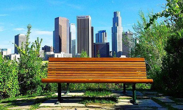 Vista Hermosa Park Bench
