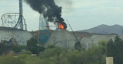 Colossus Set on Fire