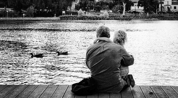 Family Moment at Echo Park Lake