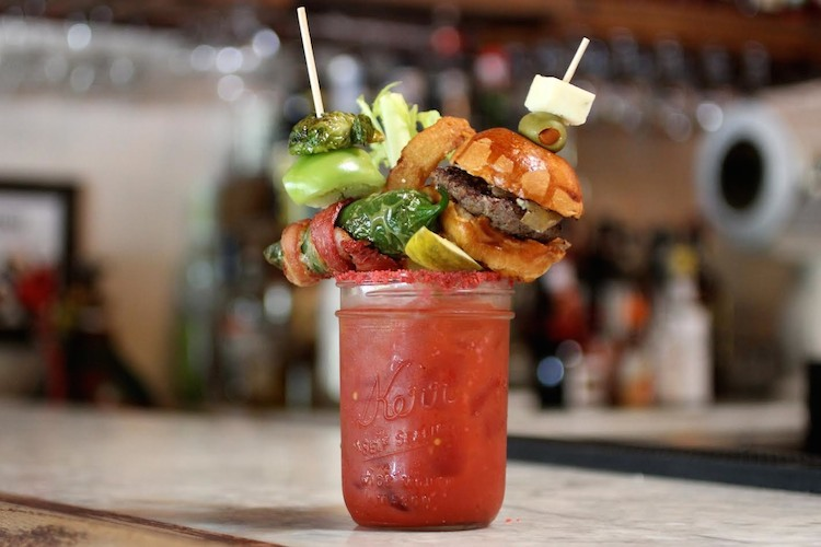 Bloody Royale from Franklin & Co. Tavern