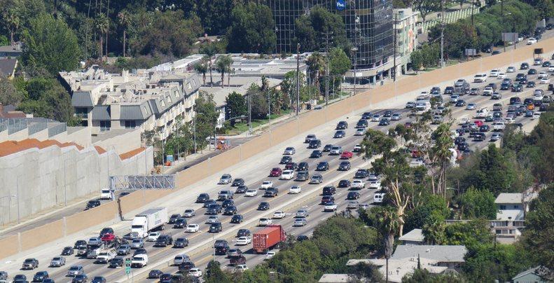Los Angeles Freeway Gridlock