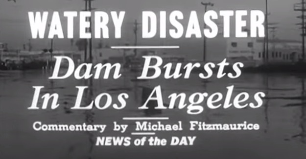 Baldwin Hills Flood Disaster 1963
