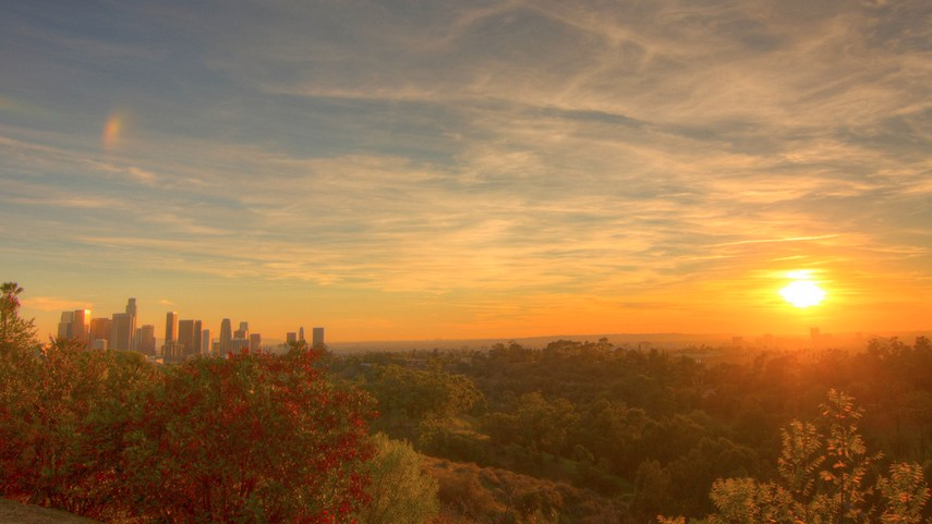 Elysian Park Sunset