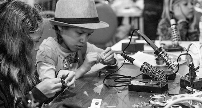 LA Makerspace Student