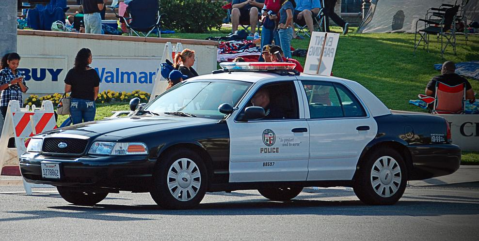 Los Angeles Police Vehicle