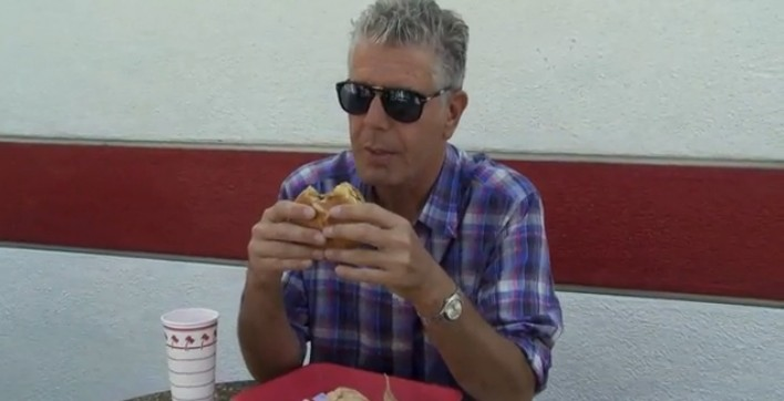 Anthony Bourdain In N Out Burger
