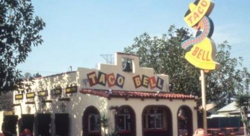 Downey Original Taco Bell Location
