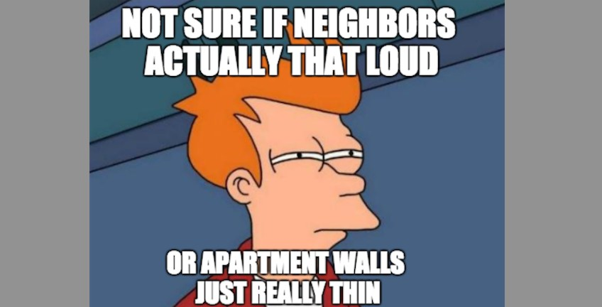 Fry Meme Apartment Walls