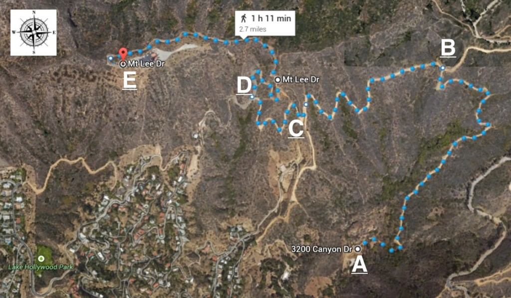 griffith park hiking trails map with Waterpark Torrevieja on Easy Hollywood Sign Hike likewise First Landing State Park besides Mt Hollywood Trail further Challenger Seven Memorial Park Boardwalk Trail also Easy Hollywood Sign Hike.