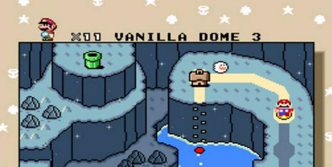 Super Mario World Vanilla Dome