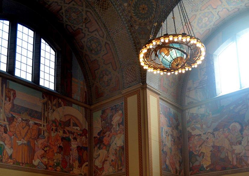 L.A. Central Library Interior