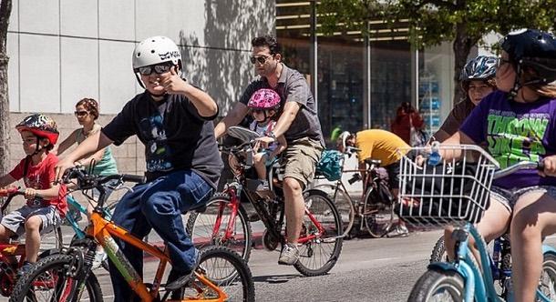 CicLAvia Riders 2014