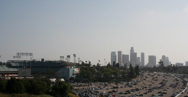 Dodgers Stadium Exterior