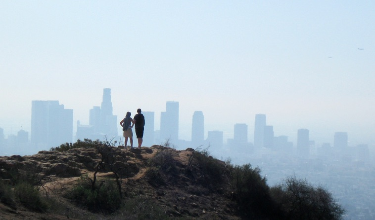 View of DTLA from Griffith Park