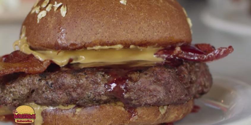 Peanut Butter and Jelly Hamburger