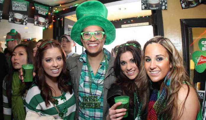 St. Patrick's Day at the Pig 'n Whistle