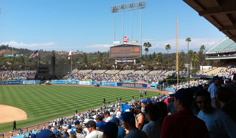 Dodger Stadium Day Game