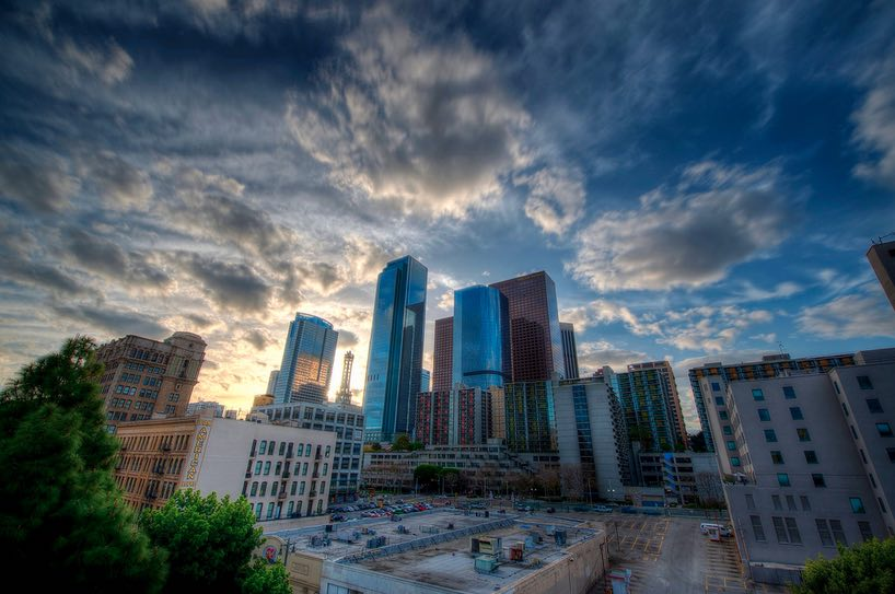 Downtown L.A. in HDR