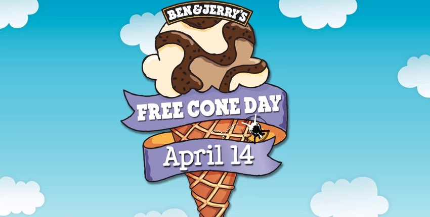 Free Cone Day 2015 Ben & Jerry's