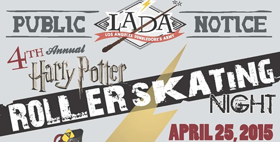Harry Potter Roller Skating Featured