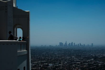 View of Downtown Los Angeles from Griffith Observatory