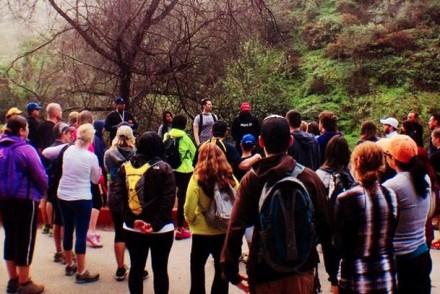 Crowd Gathering at Bronson Canyon