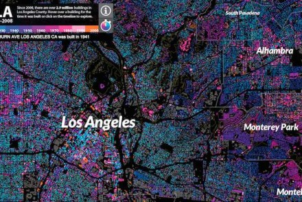 L.A. Housing Development History Map