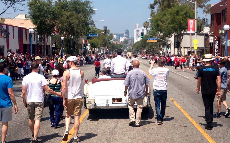Mayor Garcetti at LA Pride 2015