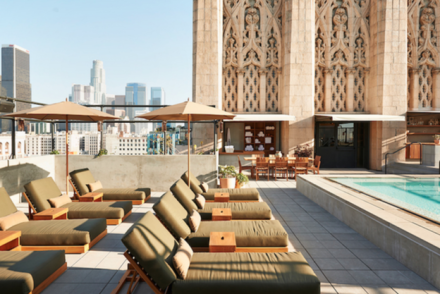 Ace Hotel Rooftop Pool