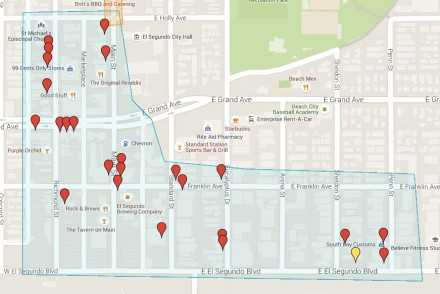 El Segundo Art Walk Route