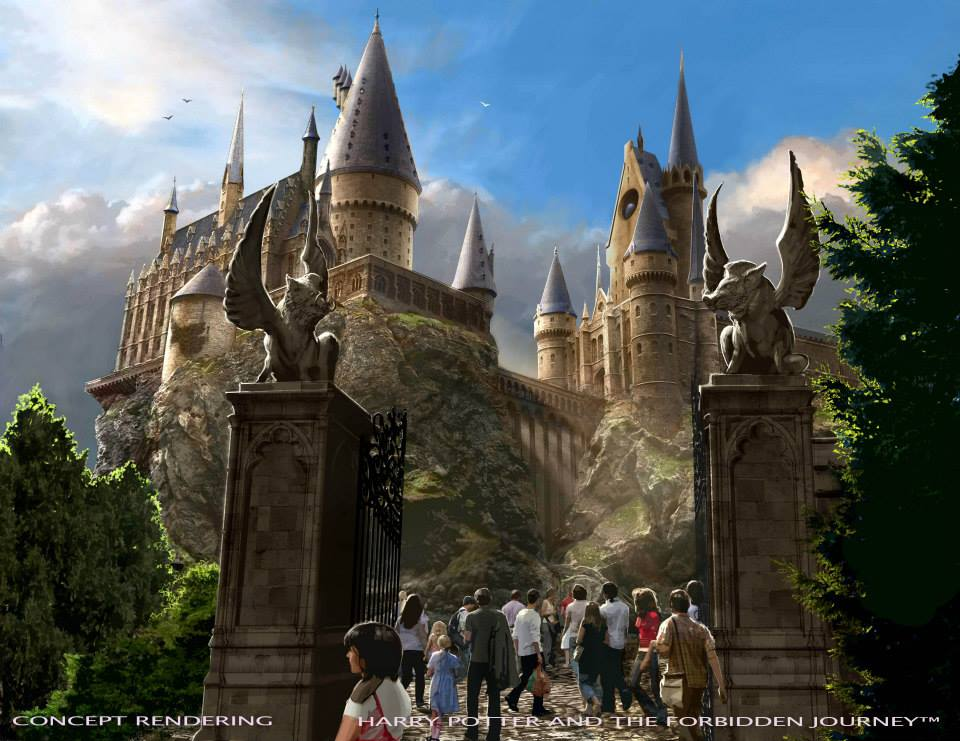 Harry Potter and the Forbidden Journey Rendering
