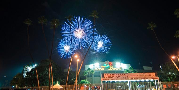 July 4 Rose Bowl Fireworks