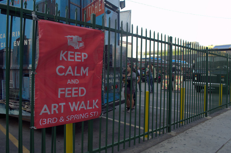 Keep Calm and Feed Art Walk