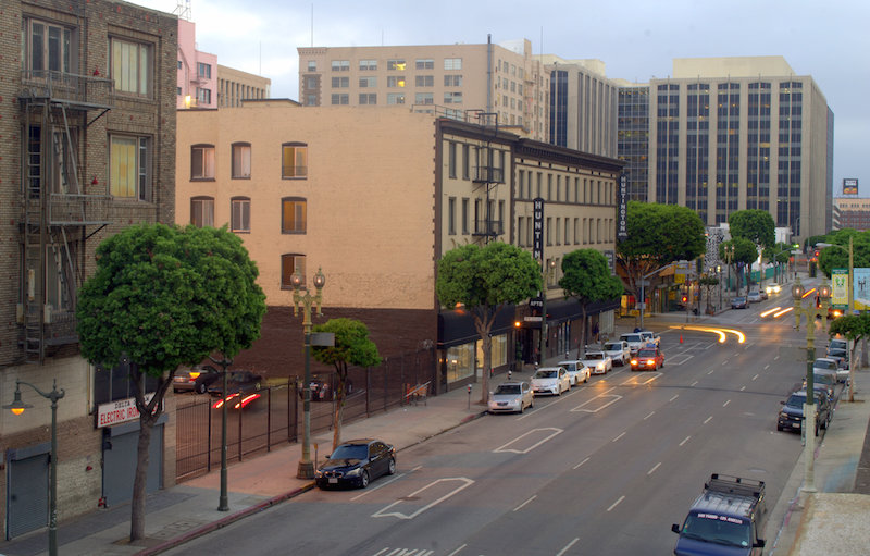 The View From a Downtown L.A. Parking Structure