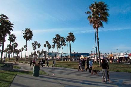Venice Boardwalk Shadows